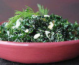 Raw Kale Salad With Feta Cheese