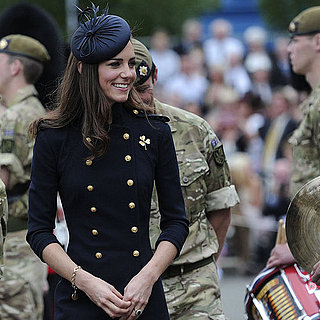 Kate Middleton and Prince William Irish Guards Parade Pictures