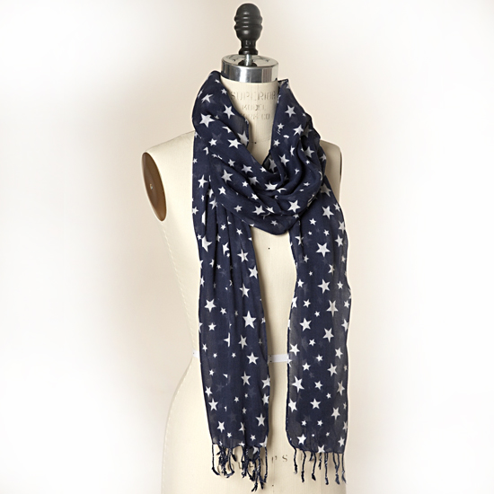 The Limited Star Scarf, $30