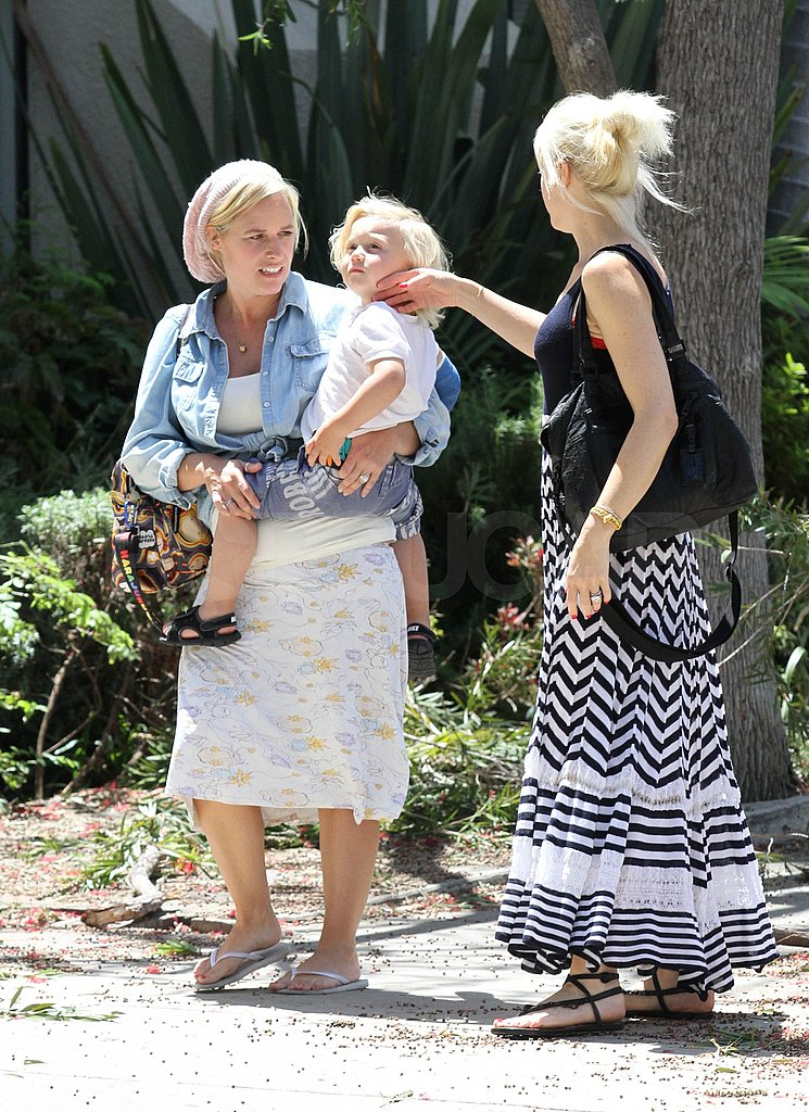 Gwen Stefani and her son Zuma are too cute in LA.