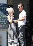 Gwen Stefani and Gavin Rossdale do lunch in LA.