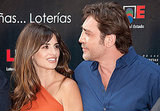 Javier Bardem and Penelope Cruz kept close on the red carpet.