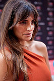 Penelope Cruz chatted with the press in Madrid.