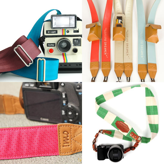 5 Beautiful Camera Straps For Smart Accessorizing