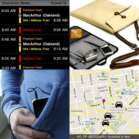San Francisco Travel Gadgets and Apps