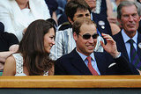 Prince William rocks some sunglasses at Wimbledon.