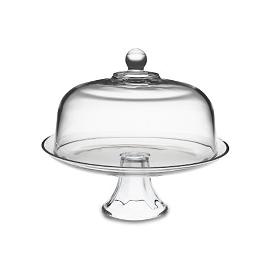 Williams-Sonoma Glass Domed Cake Plate/Punch Bowl, $30