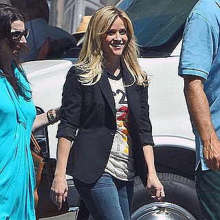 Reese Witherspoon Wears a SU2C Tee For Commercial Pictures
