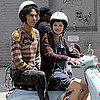Sacha Baron Cohen and Anna Faris on The Dictator Set in NYC