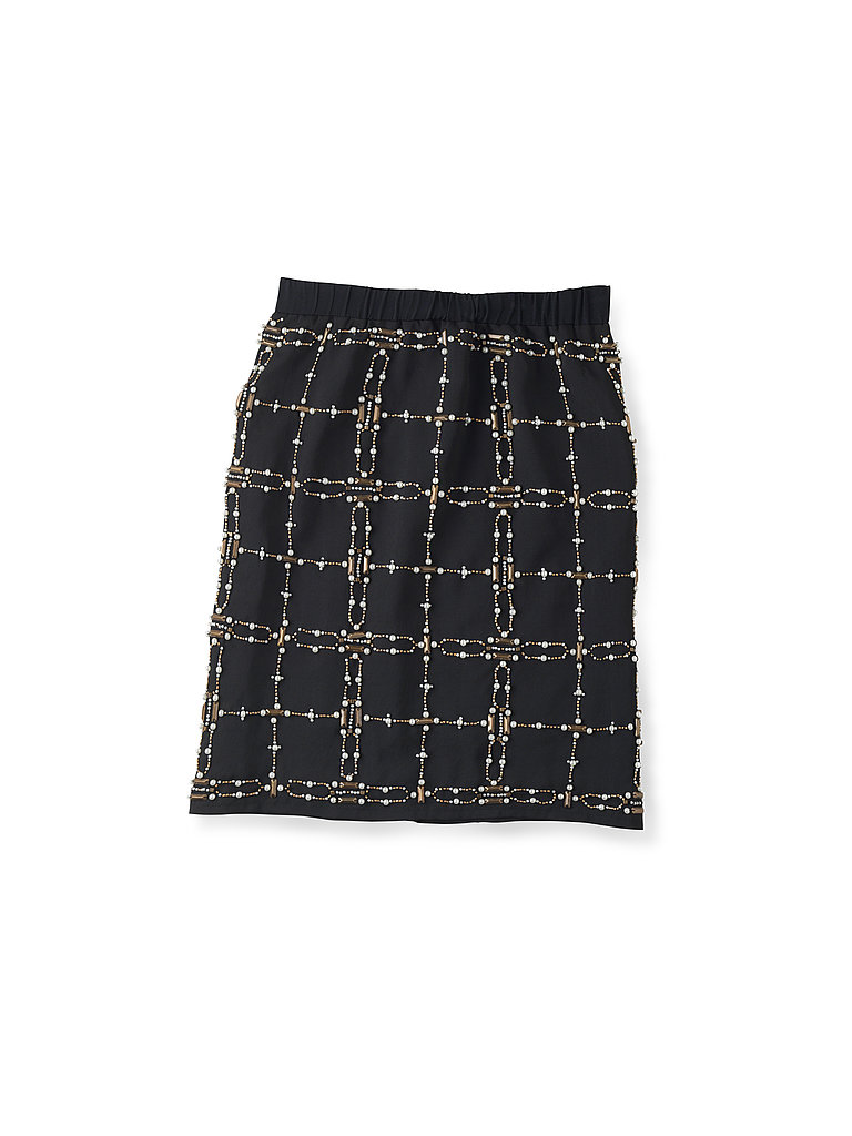 Hand Embellished Skirt, $140