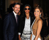 James Ferragamo, Rachel Roy and Eva Mendes