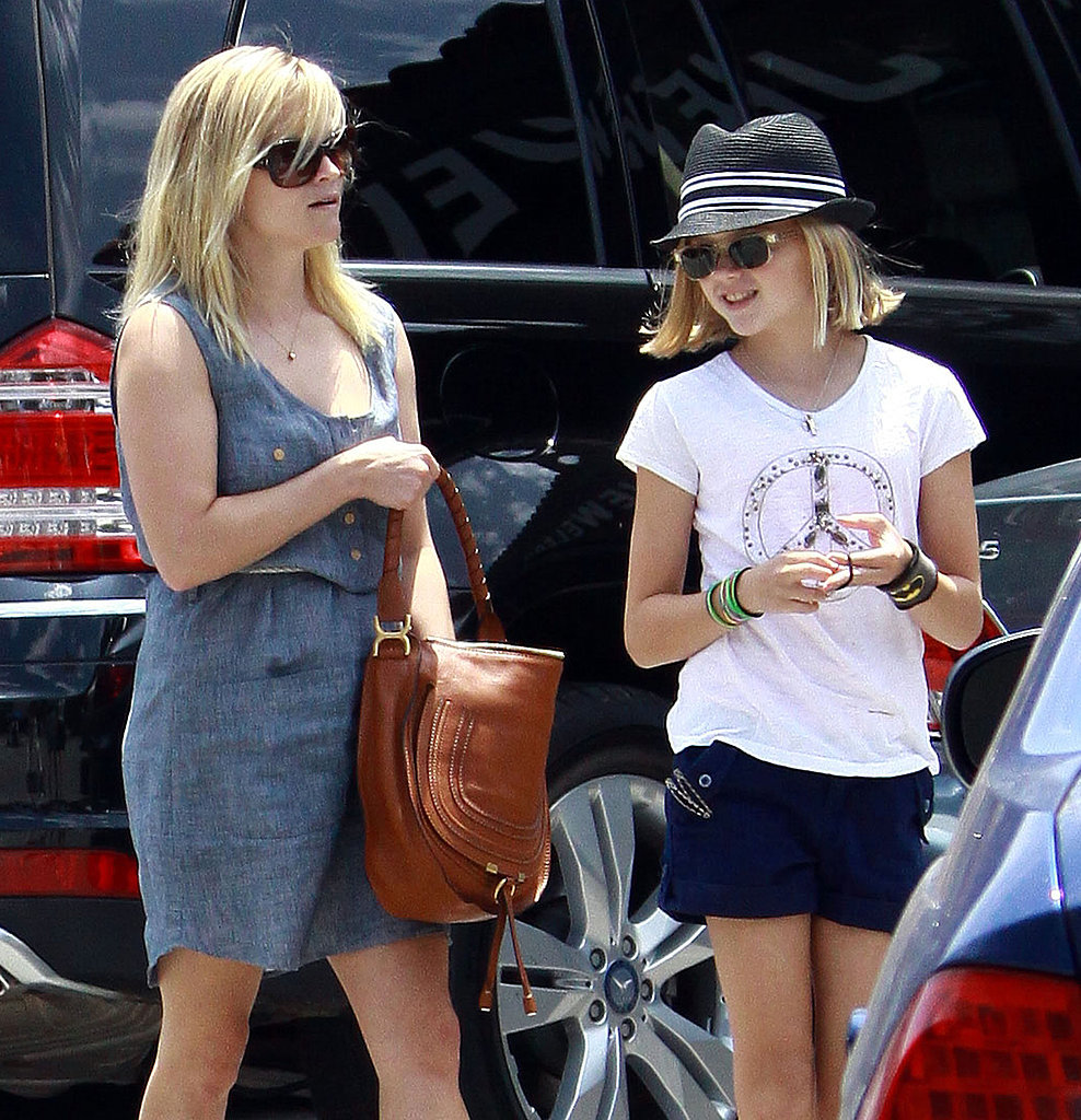 Ava Phillippe showed off a short Summer haircut while out with mom Reese Witherspoon.
