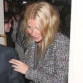 Gwyneth Paltrow Eating Out With Sir Philip Green in London