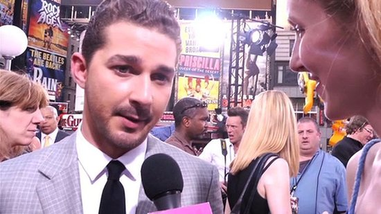 Video: Shia LaBeouf Says Goodbye to Transformers While His Costars Sing His Praises