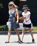 Reese Witherspoon and Ava Phillippe toted home some leftovers from lunch.