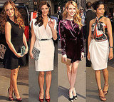 Ashley, Minka, Freida, and Emma Get Gorgeous For the Front Row at Ferragamo