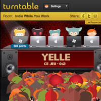 Turntable.fm Social Music Sharing