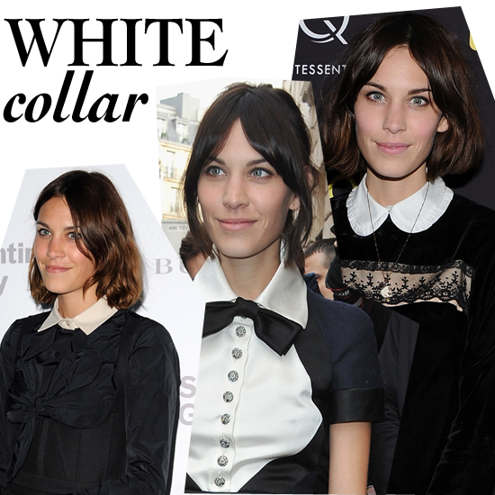 Alexa's White-Collar Style: Cool or Overplayed?