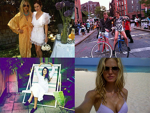 Fab's TwitPics: See Pictures of Alexa Chung at Glastonbury, Rachel Zoe, Erin Heatherton, Lara Bingle's Hats and Eva Mendes