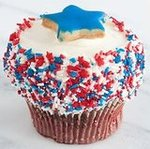 Star-Spangled Cupcake From Crumbs