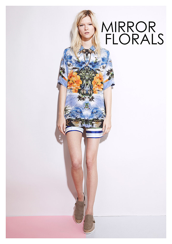 MIRROR FLORALS Stella McCartney   See all Stella McCartney Resort 2012