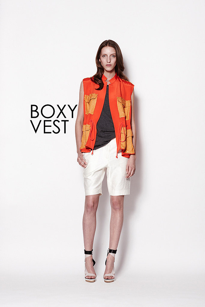 BOXY VEST 3.1 Phillip Lim   See all 3.1 Phillip Lim Resort 2012