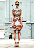 MIRROR FLORALS Givenchy   See all Givenchy Resort 2012