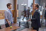 Kevin Connolly as Eric Murphy and Scott Caan as Scott Lavin, Entourage season eight.