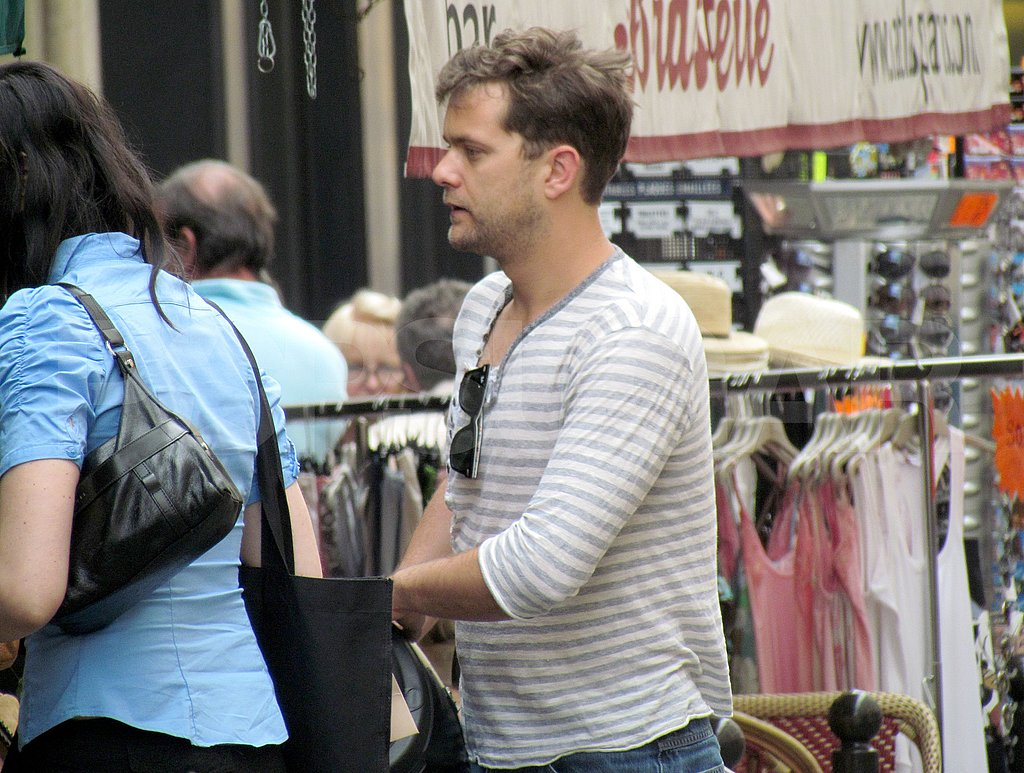 Diane Kruger and Joshua Jackson Explore Their Shopping Options in Paris