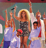 Beyoncé Knowles surprised fans at the East Harlem Target.