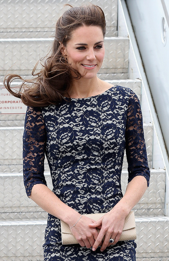 Kate Middleton arrived in Canada for her official visit.