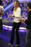 Cameron Diaz played games on Spanish TV show El Hormiguero.