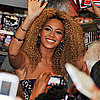 Beyoncé Knowles at Target East Harlem
