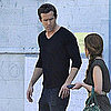 Ryan Reynolds and Jason Bateman at LA Studio