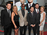 The cast of Horrible Bosses posed together at the LA premiere.