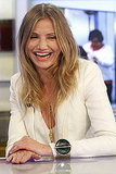 Cameron Diaz laughed on El Hormiguero.