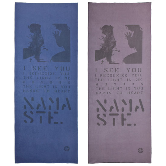 Manduka Lyrics eQua Mat Towel