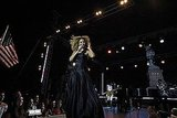 Beyoncé and Lady Liberty Rehearse For July 4 Fireworks Show