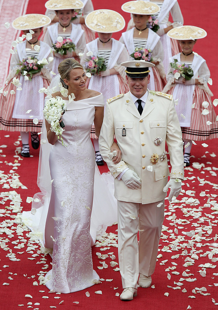 Wedding of Monaco's Prince Albert II and Princess Charlene