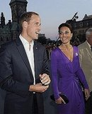 Kate smiled and beamed in her purple Issa dress at the Canada Day concert on Friday.