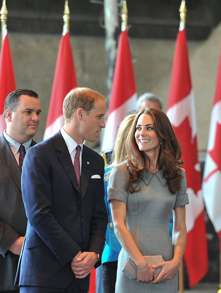 Prince William and Kate Middleton only have eyes for each other.