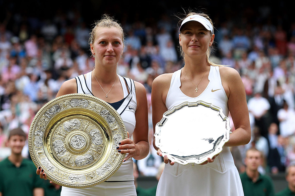 Petra Kvitova and Maria Sharapova
