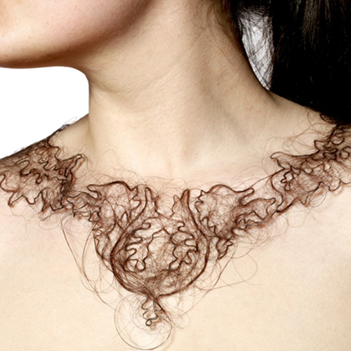 Can Human Hair Ever Make Pretty Jewelry?