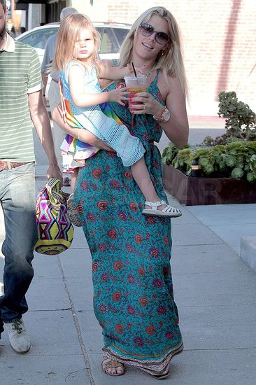 Busy Philipps and Her Daughter, Birdie, Toast to a Casual Family Outing