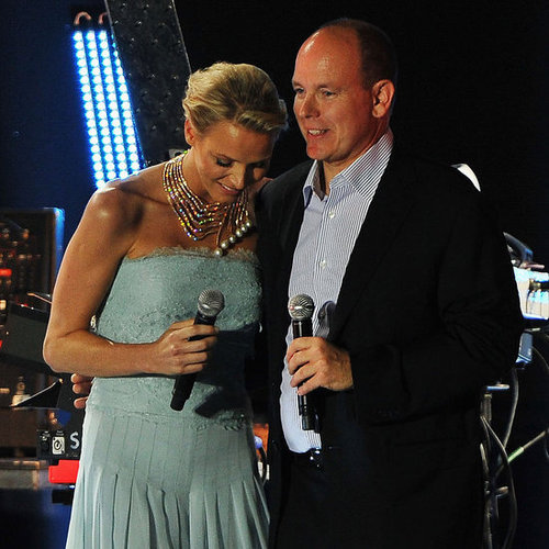 Prince Albert and Charlene Wittstock Wedding Concert Pictures