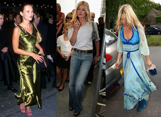 The best  street and red carpet fashion moments from Kate Moss In the Lead Up to Her Wedding to Jamie Hince