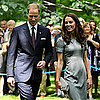 Kate Middleton and Prince William Tree Planting Pictures