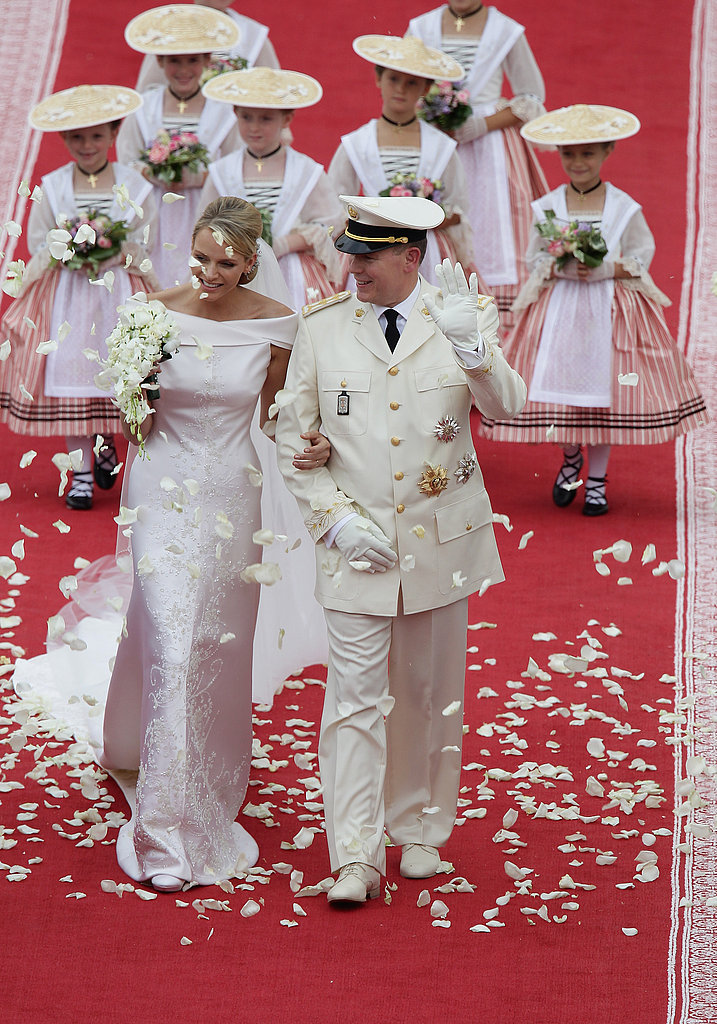 Prince Albert and Charlene Wittstock Religious Ceremony