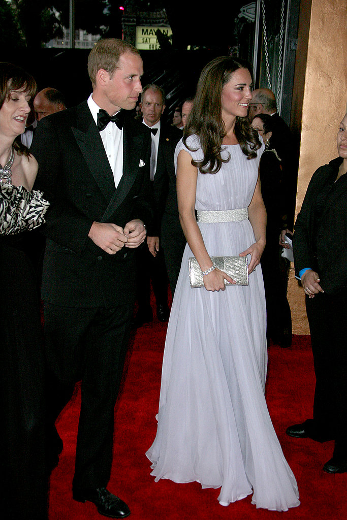 Kate and William at BAFTA Brits to Watch dinner.