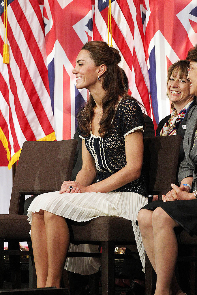 Kate Middleton at ServiceNation event in LA.